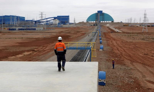 The Oyu Tolgoi Mine (Reuters)