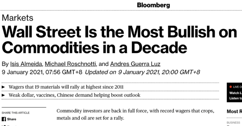 Is a commodity supercycle' ahead?